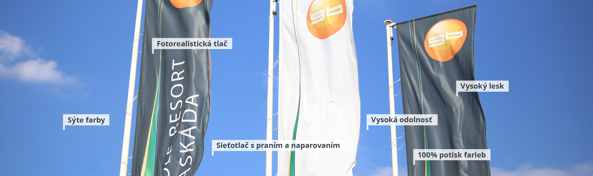 Vonkajšie tlačené vlajky