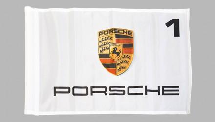 Golfové vlaječky s logem a názvem automobilky