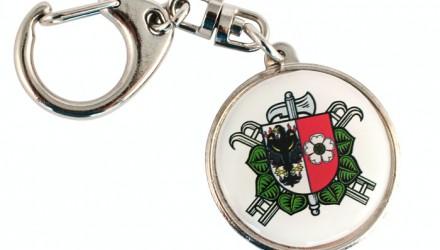Klíčenky, samolepky, magnetky pro hasičské sbory