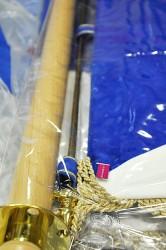 Vodeodolný obal na vyšívaný prápor, vlajku