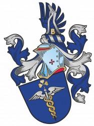 Návrh heraldického osobného občianskeho znaku pre pána Vladimíra Partla
