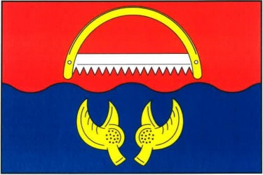 Návrh vlajky pre obec Rudolec