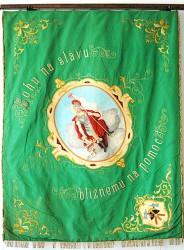Historická hasičská zástava DHZ Pezinok