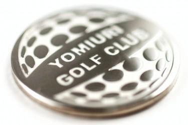 Pamätné mince pre golfové kluby