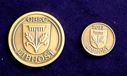 Vyhotovenie pamätných mincí pre obec Libhošť