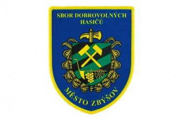 Rukávová nášivka pre SDH města Zbýšov