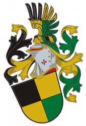 Ukážka heraldického vyhotovenia osobného znaku