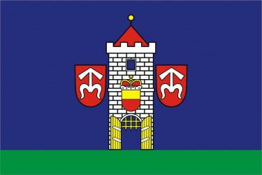 Návrh vlajky pre Moravský Krumlov
