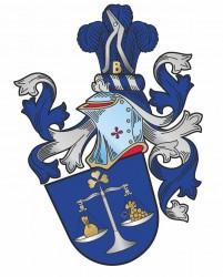 Návrh heraldického osobného občianskeho znaku pre pána Jindřicha Klusoně