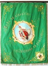 Pôvodná zástava DHZ Pezinok