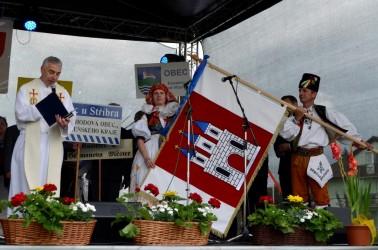 Požehnanie obecnej vlajky Kostelec na Hané