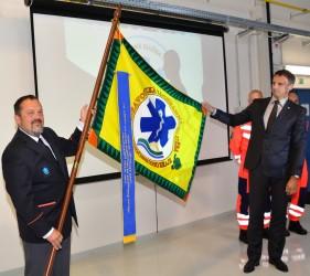 Predstavenie práporu Zdravotníckej záchrannej služby Juhomoravského kraju