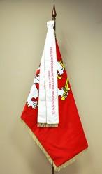 Slávnostná vyšívaná stuha k vlajke rovná