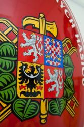Detail oválu pre hasičov