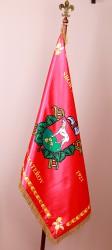 Tlačené saténové vlajky pre obce a mestá