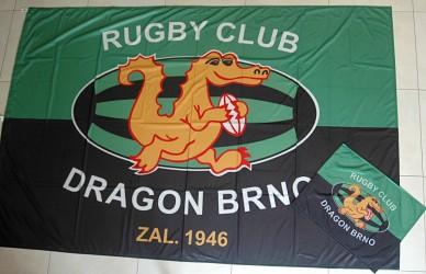 Vlajky vyrábané na zákazku pre kluby a spolky