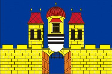 Návrh vlajky, obec Jevišovice