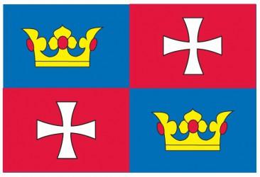Návrh vlajky pre obec Chvalšiny