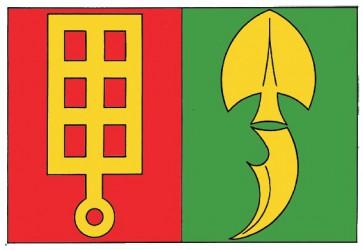 Návrh vlajky pre obec Horní Štěpánov (okr. Prostějov)