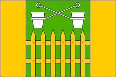 Návrh vlajky pre Obůrky (časť mesta Blansko)