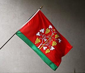 Vonkajšie vlajky pre obce, mestá nebo predmestia