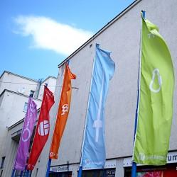 Vonkajšie vlajky pre Sokol Brno I