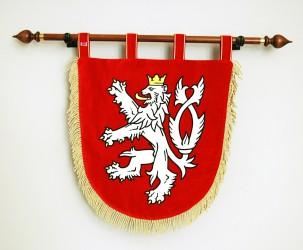 Slávnostný vyšívaný malý štátny znak ČR