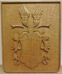 Osobný znak v drevenom prevedení
