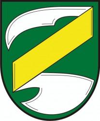Návrh znaku obce Zvěrkovice v okrese Třebíč