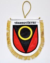 Stolná vlajočka pre obec Třebnouševes