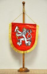 Vyšívané stolné vlajočky pre spolky