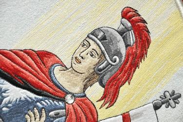Výšivka - Svätý Florián, patrón hasičov