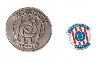 Pamětní mince, odznaky pro sportovní kluby a zájmové kluby
