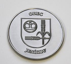 Obecní pamětní mince s vlastní grafikou