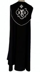 Bohatě zdobený liturgický oděv -  pluviál