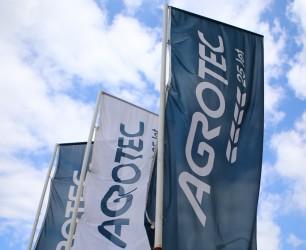 Firemní reklamní vlajky - Agrotec