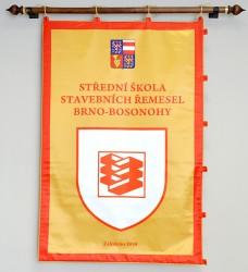 Tištěný znak, vlajka pro instituce a úřady