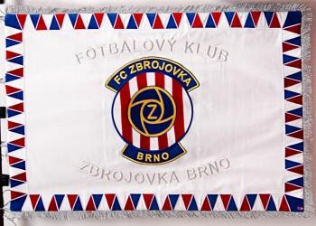 Vyšívané vlajky a prapory pro fanoušky sportu