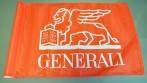 Golfová vlaječka s logem a názvem společnosti Generali