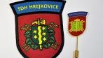 Tištěná nášivka a odznak pro obec Hrejkovice