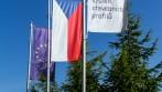 Ukázka venkovní vlajkoslávy