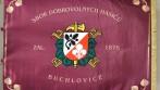Slavnostní hasičský prapor tištěný SDH Buchlovice