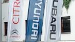 Vlajková křídla s logem a názvem vaší firmy