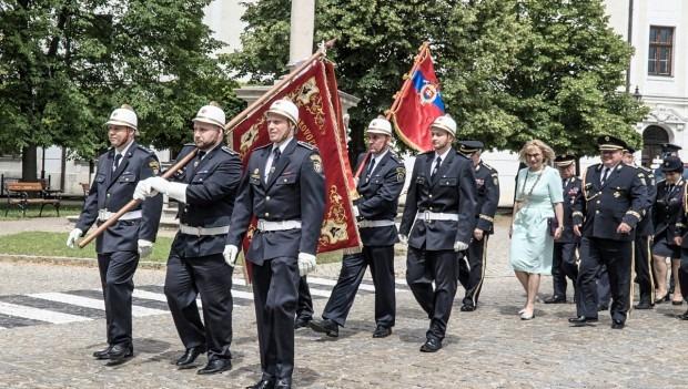 Skalickí hasiči oslávili 140 rokov