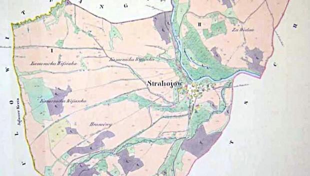 Historická mapa obce/města/městysu