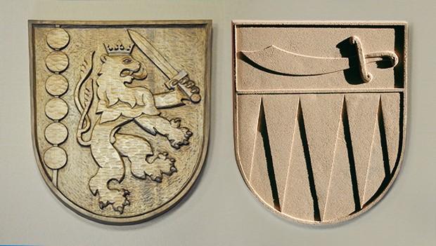 Zakázková výroba státních znaků a znaků s vlastními symboly